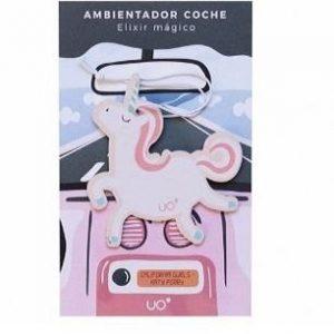 Ambientador de coche Unicornio