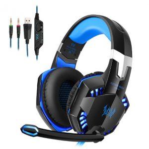 Auriculares con micrófono para pc de gaming