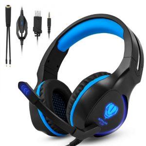 Auriculares con micrófono para pc y videojuegos Zenopligue