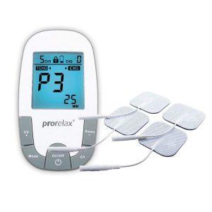 Electroestimulador muscular con gran pantalla