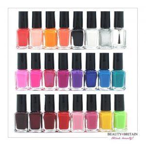 Esmalte de uñas 24 colores diferentes