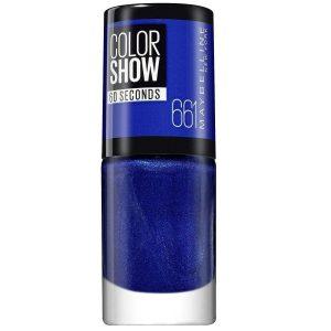 Esmalte de Uñas Color Show Ocean Blue