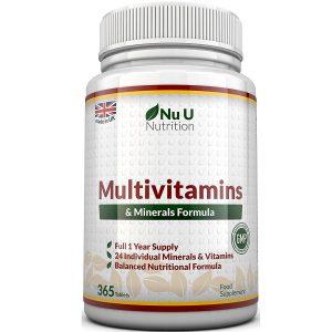 Fórmula Multivitamínica con Minerales