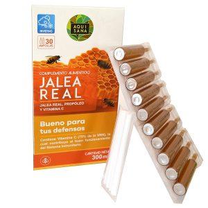 Jalea Real Aquisana Propoleo y Vitamina C