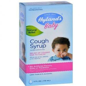 Jarabe para la tos para bebés Hyland