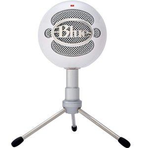 Micrófono para pc blanco