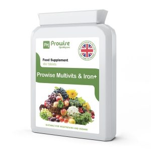 Multi Vitaminas y Hierro 180 tabletas