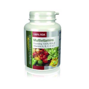 Multivitaminas 100% IDR ABCD y E