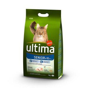 Pienso para Gatos Senior de 10 Años Ultima