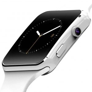 Smartwatch elegante blanco