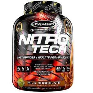 Suplemento deportivo Muscletech Nitro Tech
