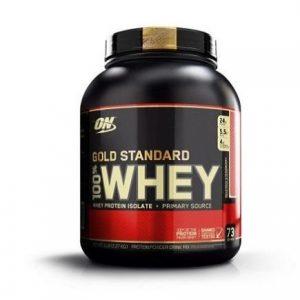 Suplemento deportivo Optimum premium 100% whey gold standard