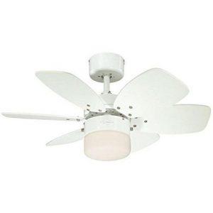 Ventilador blanco Flora