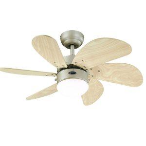 Ventilador turbo con forma de flor