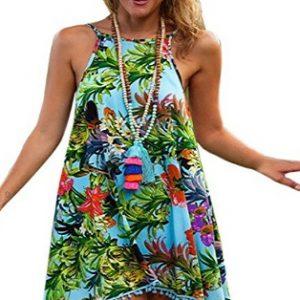 Vestido para la playa diseño selva