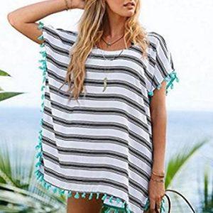 Vestido para la playa estilo hippie Isuper